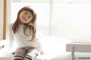 ストレスなく元気な子供の画像