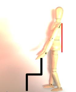 四頭筋ストレッチ1 正しい姿勢